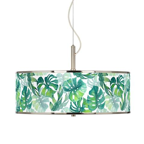 "Tropica Giclee Glow 20"" Wide Pendant Light"