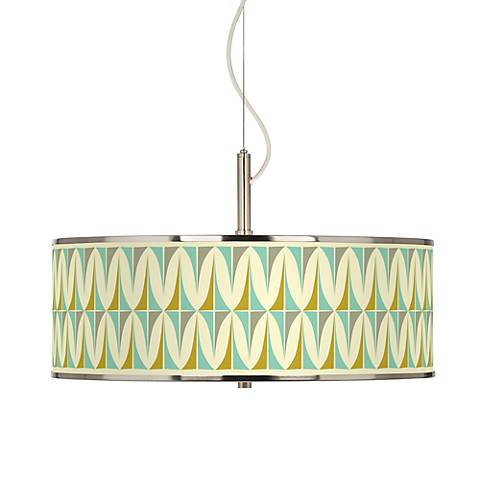 "Vernaculis I Giclee Glow 20"" Wide Pendant Light"