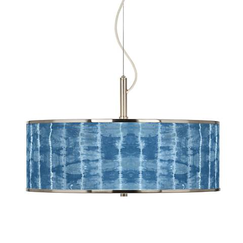 "Cool Reflections Giclee Glow 20"" Wide Pendant Light"