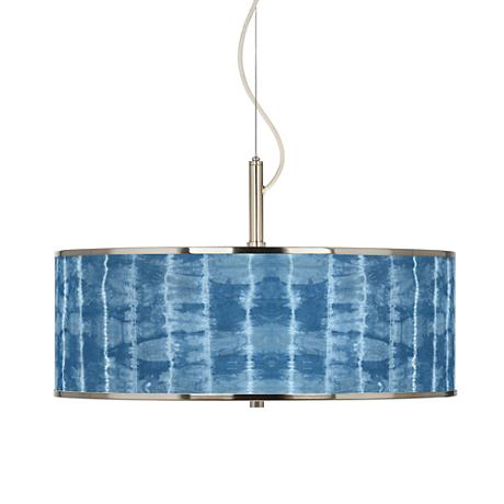 """Cool Reflections Giclee Glow 20"""" Wide Pendant Light"""