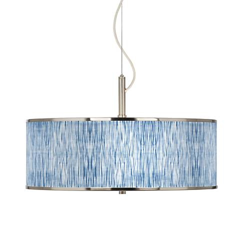 "Beachcomb Giclee Glow 20"" Wide Pendant Light"