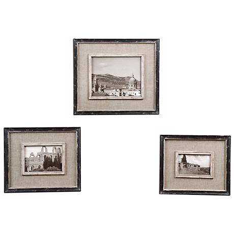 Set of 3 Uttermost Kalidas Photo Frames