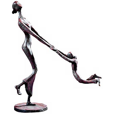 "Uttermost At Play 11"" High Sculpture"