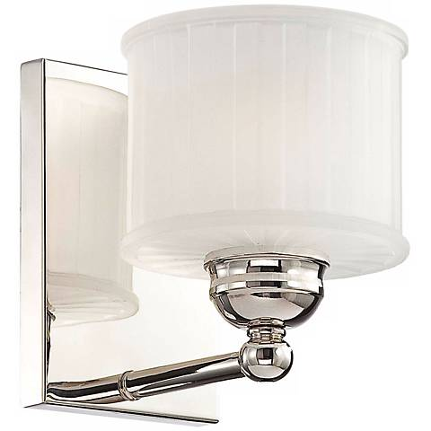 "Polished Nickel 1730 Series 7"" High Wall Sconce"