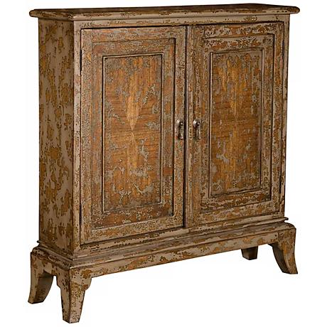 Uttermost Maguire Distressed Wood Console Table
