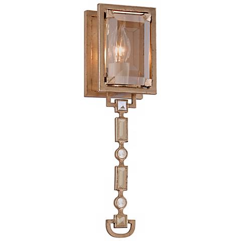 "Corbett Paparazzi Topaz Leaf 15 3/4"" High Wall Sconce"