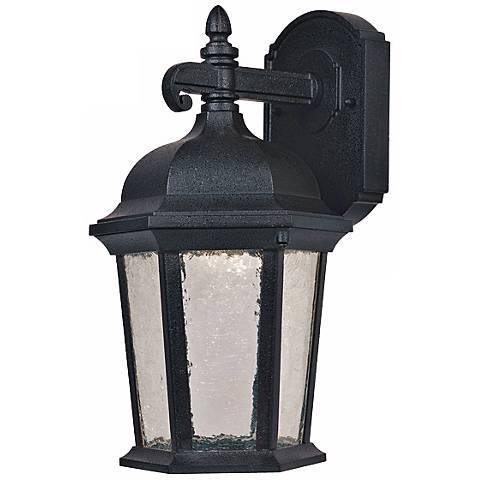 "Abbington Driftwood 14"" High LED Outdoor Wall Light"