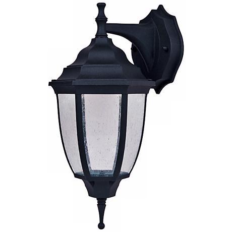 "Lexington Black 14 1/2"" High LED Outdoor Wall Light"