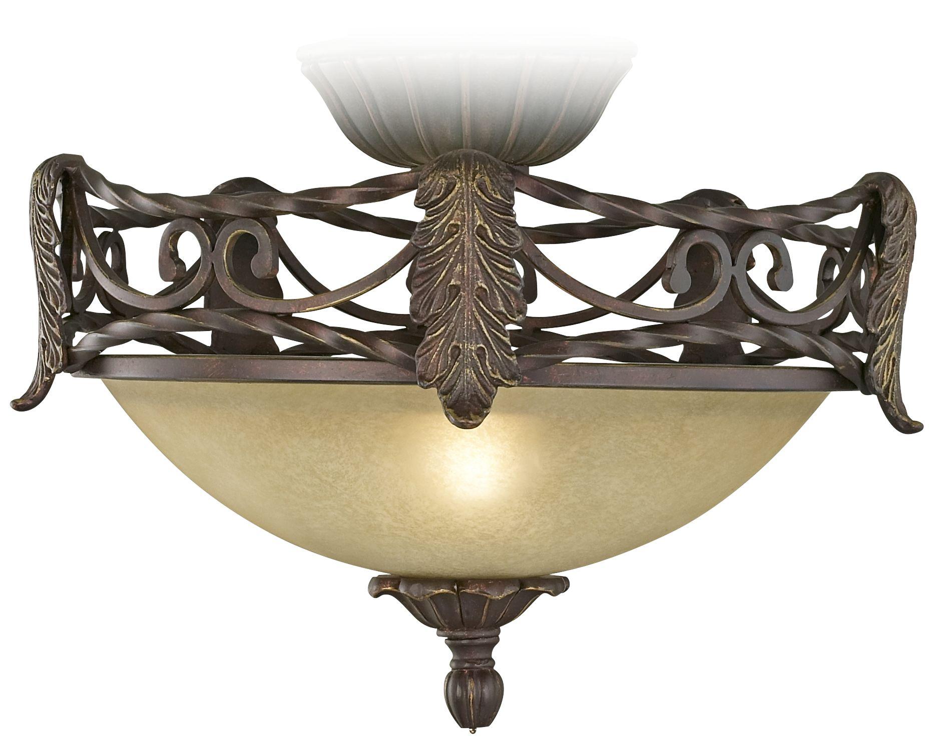 acanthus pullchain ceiling fan light kit in scavo - Ceiling Fan Light Kits