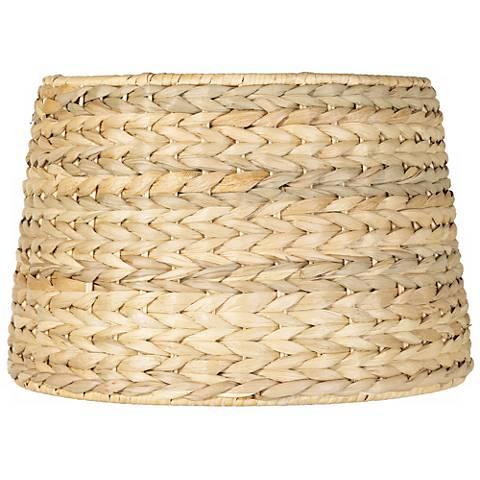 Woven Seagrass Drum Shade 10.5x11x8.5 (Spider)