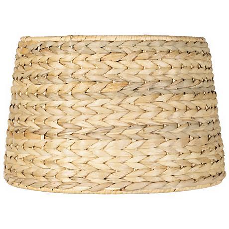 Woven Seagrass Drum Shade 10.5x11x8.5 (Spider)