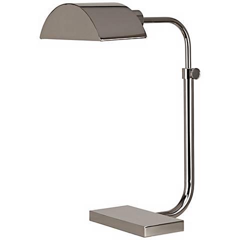 Robert Abbey Koleman Polished Nickel Desk Lamp