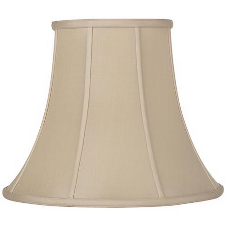 Sand Silk Bell Lamp Shade 9x18x13.5 (Spider)