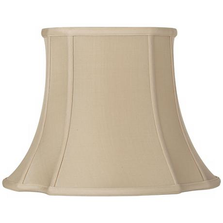 Sand French Oval Shade 8/10.5x15/18x12.75 (Spider)