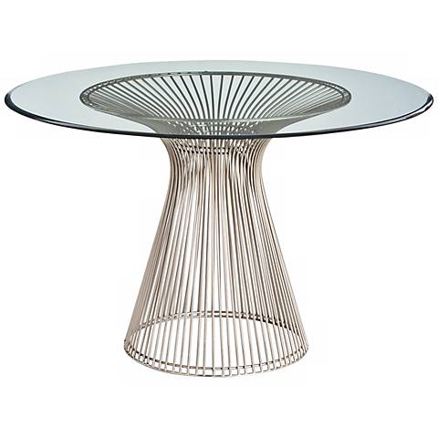 Arteriors Home Nova Bouquet Iron/Beveled Glass Entry Table