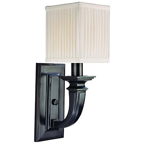 """Hudson Valley Phoenicia Old Bronze 15"""" High Wall Sconce"""