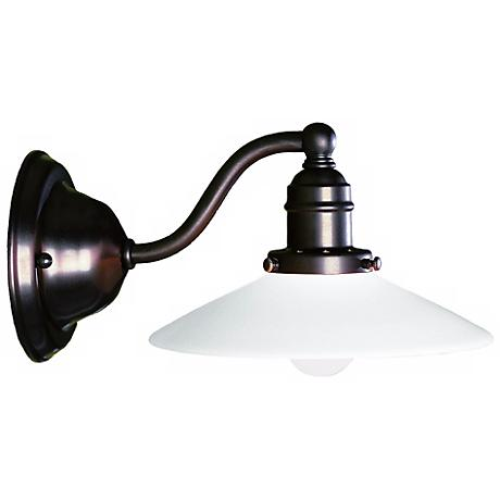 Hudson Valley Hadley Old Bronze Wall Sconce