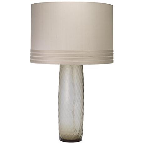 Jamie Young Cloud Smokey Glass Table Lamp