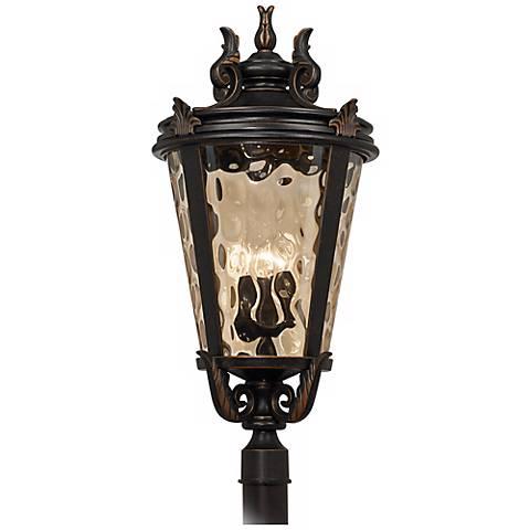 """Casa Marseille™ Bronze 33 1/2"""" High Outdoor Post Light"""