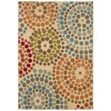 "Emerson Collection Color Burst 5'x7'6"" Area Rug"