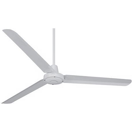 "60"" Turbina™ White Ceiling Fan"