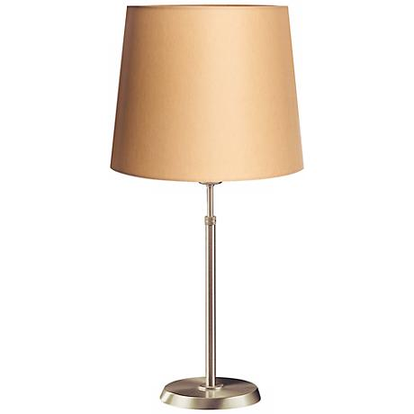 Holtkoetter Satin Nickel Lamp with Kupfer Shade