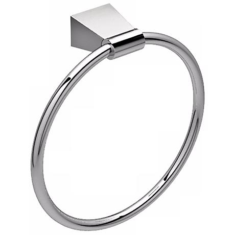 Gatco Bleu Chrome Towel Ring