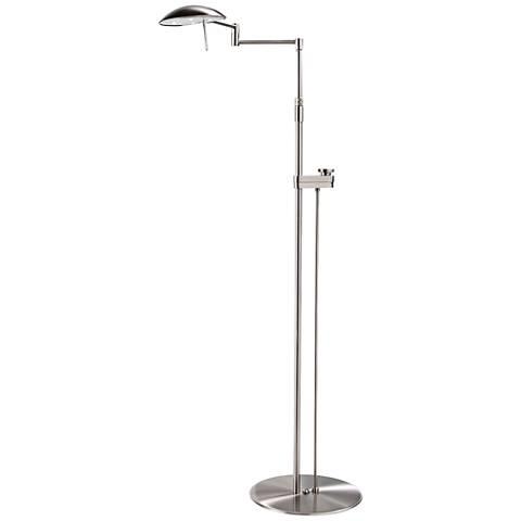 Sonneman Satin Nickel Tenda Pharmacy Adjustable Floor Lamp 24545 Lamps Plus