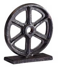 """Bronze Gear 6"""" High Sculpture #1"""
