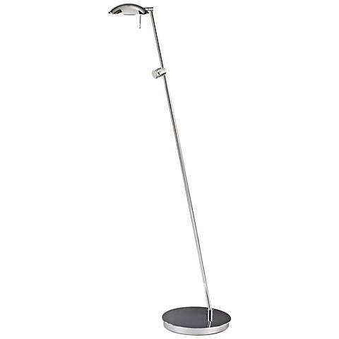 Chrome Bernie Turbo Halogen Tilt Base Holtkoetter Floor Lamp