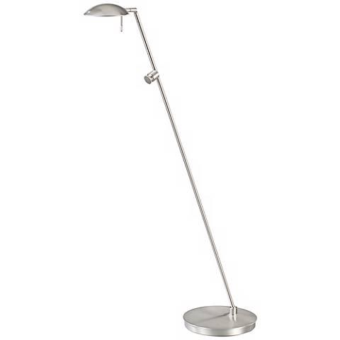 Nickel Bernie Turbo Halogen Tilt Base Holtkoetter Floor Lamp