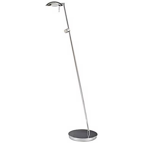 Chrome Bernie Turbo LED Tilt Base Holtkoetter Floor Lamp