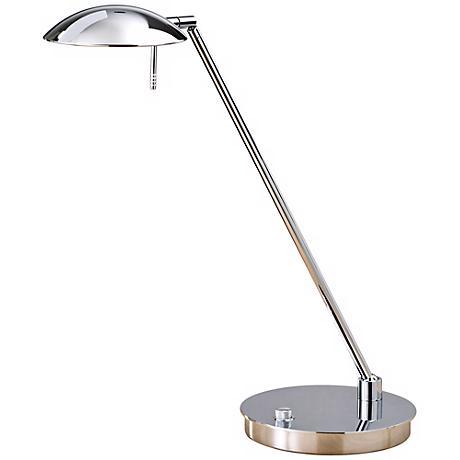 Chrome Bernie Turbo Halogen Tilt Base Holtkoetter Desk Lamp