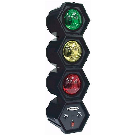 Three Linkable Indoor Color Party Lights with Control