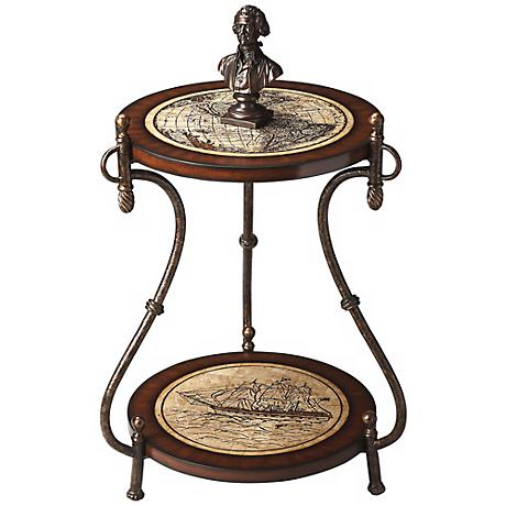Heritage New Worlds Accent Table