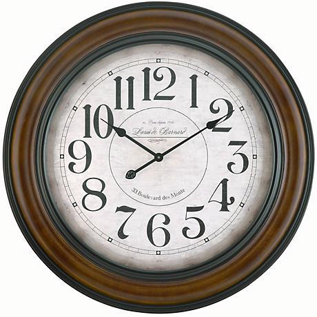 "Copper Classics Payton 32"" Wide Wall Clock"