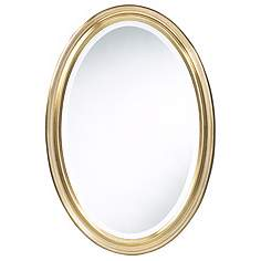 Oval Wall Mirror oval, mirrors   lamps plus