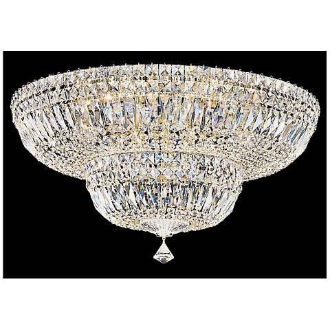 "Schonbek Petit Crystal Deluxe 24""W Aurelia Ceiling Light"