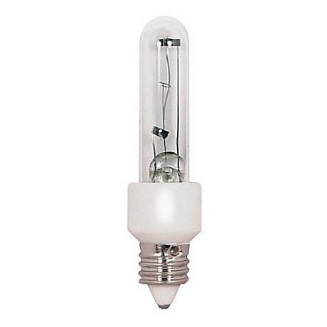 T4 100 Watt Halogen Mini-Candelabra Light Bulb