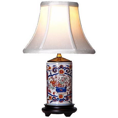 Imari Mini Vase Porcelain Table Lamp