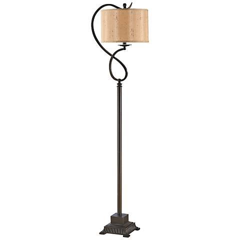 Crestview Collection Echo Bronze Floor Lamp