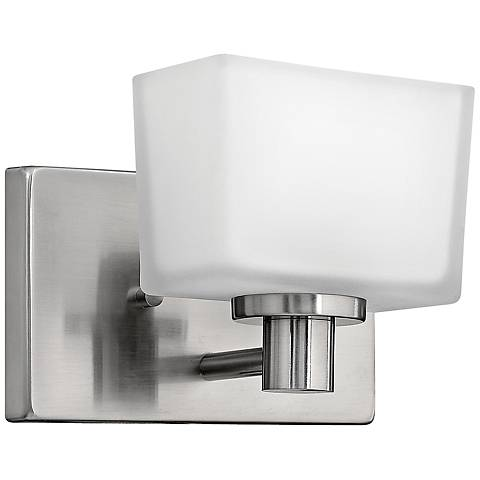 "Hinkley Taylor 6"" High Brushed Nickel Wall Sconce"