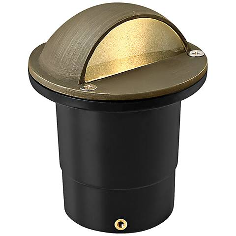 Hinkley Hardy Island Outdoor Eyebrow-Top Well Light