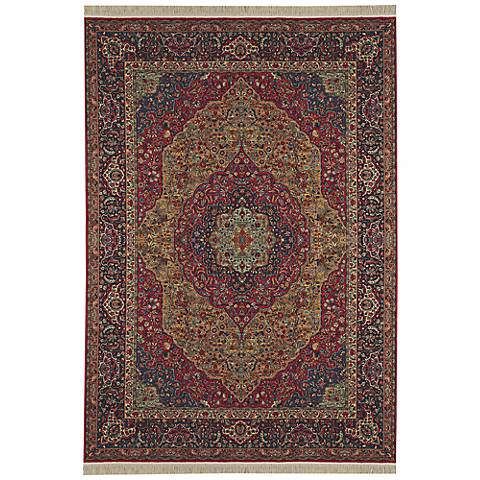 Medallion Kirman Original Karastan Area Rug
