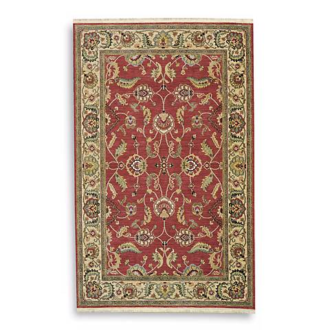 Ashara Collection Agra Red Karastan Area Rug