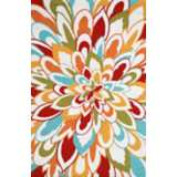 Outdoor Collection Bloom Area Rug