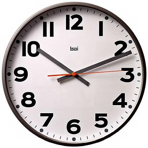 Wall Clocks At Lamps Plus : Mega White 16