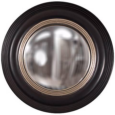 """Howard Elliott Soho 14"""" Convex Decorative Round Wall Mirror"""