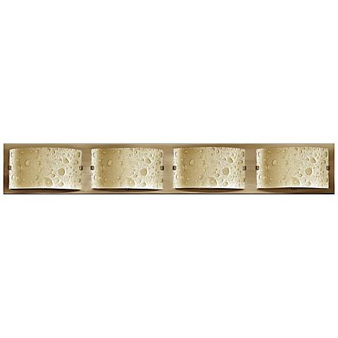 "Hinkley Daphne 32"" Wide Brushed Bronze Bathroom Light"