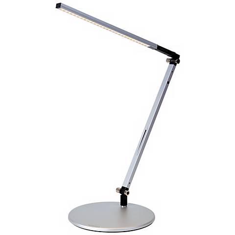 Koncept Gen 3 Z-Bar Solo Warm Light LED Silver Desk Lamp